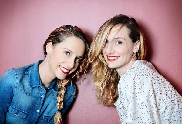 Anne-Sophie y Marie-Aldine Girard