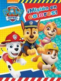 Misión En Colores Paw Patrol Patrulla Canina Actividades