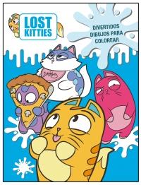 Divertidos Dibujos Para Colorear Lost Kitties Actividades