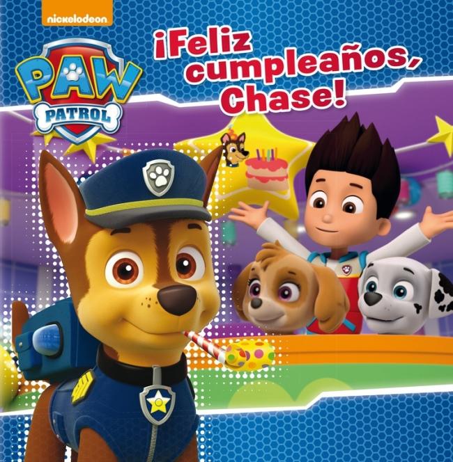 Feliz Cumpleaños Chase Paw Patrol Patrulla Canina Megustaleer