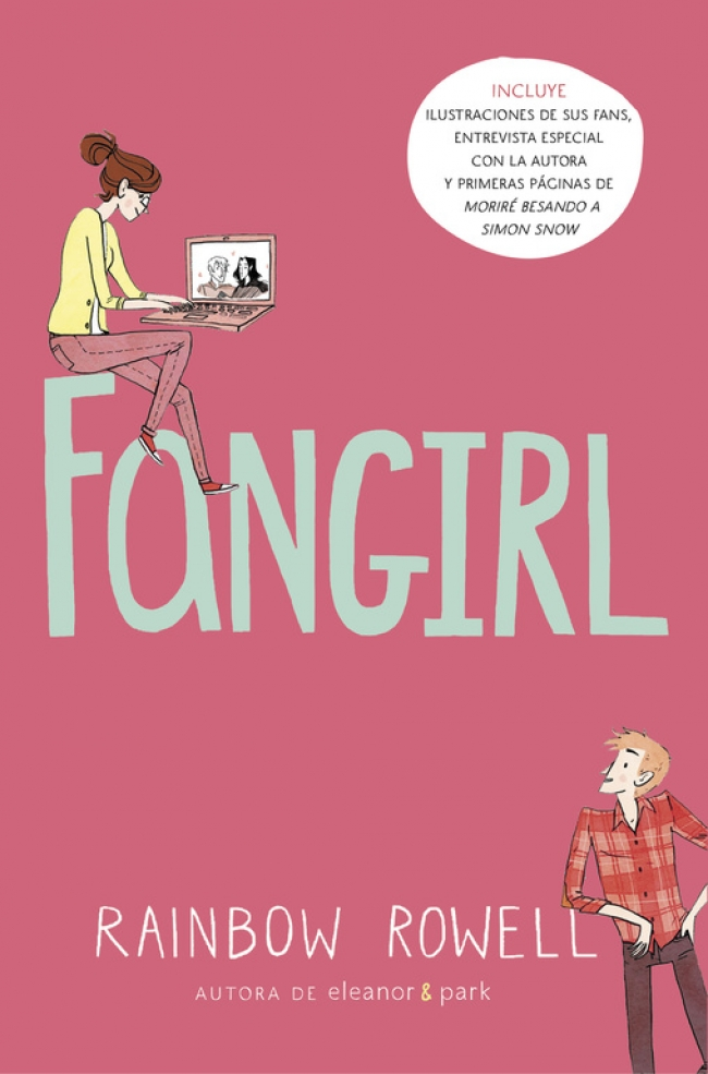 Image result for libro fangirl