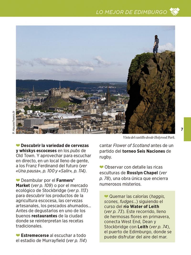 Edimburgo (La Guía verde Weekend) - Megustaleer