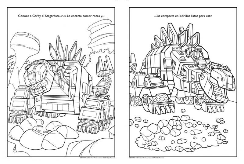 Pasatiempos divertidos (Dinotrux. Actividades) - Megustaleer