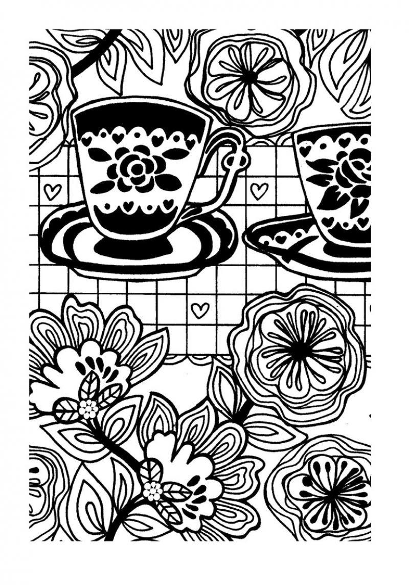 Jardin Para Colorear. Dibujos Para Pintar Jardin De Piolin. Princesa ...