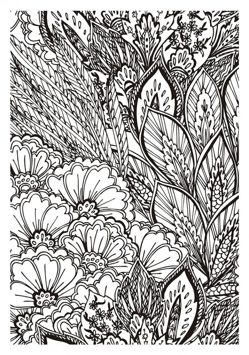 Arte antiestrés: 100 láminas para colorear (Libro de colorear para ...