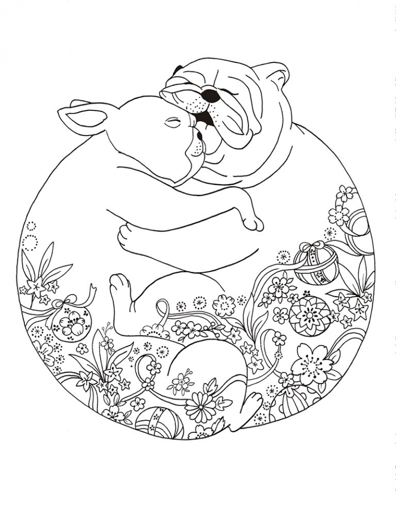 Un millón de perros: cachorros adorables para colorear (Libro de ...