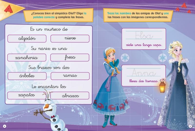 Frozen Una Aventura De Olaf Libro Educativo Disney Con