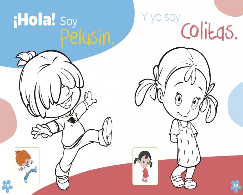 Pinta Y Colorea Con Cleo Y Cuquín Cleo Y Cuquín